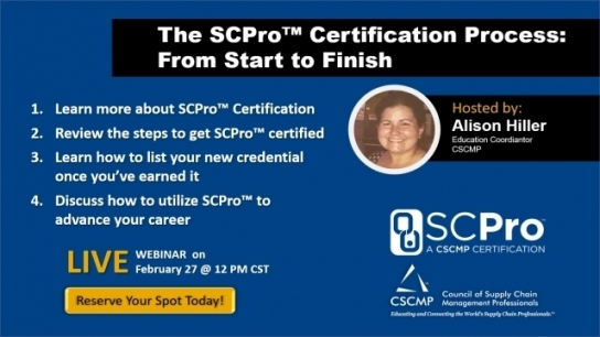The SCPro™ Certification Process: From Start to Finish
