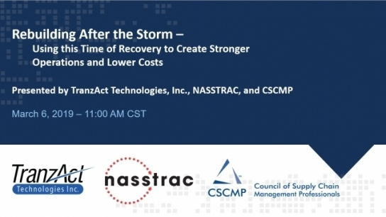 Part 5 of the Perfect Storm Series: Rebuilding After the Storm – Using this Time of Recovery to Create Stronger Operations and Lower Costs