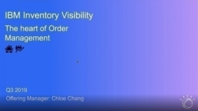 IBM Inventory Visibility: The Heart of Order Management