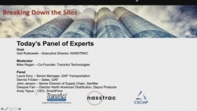 Breaking Down the Silos – Sales & Transportation - A NASSTRAC, CSCMP and TranzAct Webinar Series
