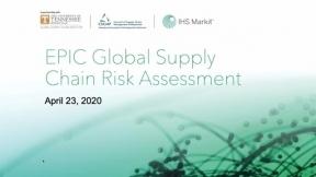 EPIC Global Supply Chain Risk Assessment - Report Release Webinar