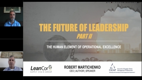 Future of Leadership Webinar Series: Core Elements of a Cultural Transformation – Part 2