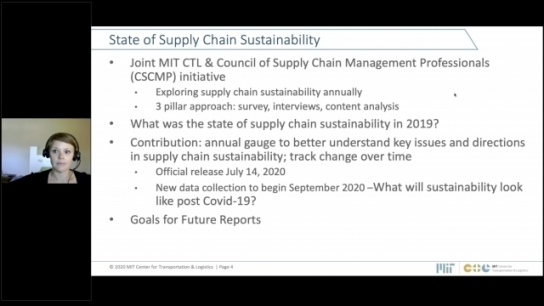 State of Supply Chain Sustainability 2020