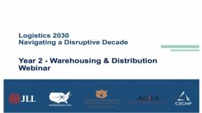 2030 Warehouse Research Webinar Release