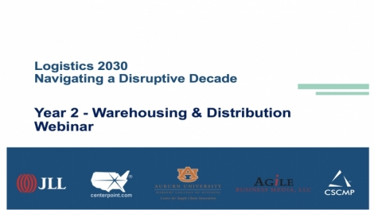 2030 Warehouse Research Webinar Release