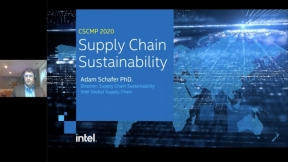 A Deep Dive into Supply Chain Sustainability at Intel
