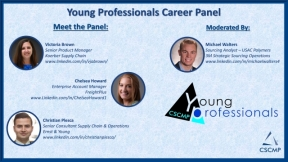 CSCMP's Young Professionals Committee Career Panel